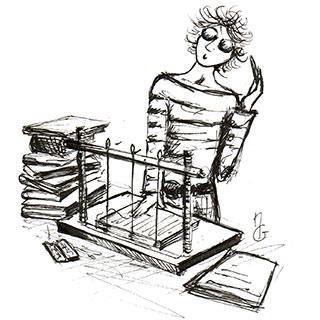 Stage de reliure - Fabrication papier.