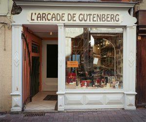 Boutique atelier reliure dorure Le Puy en Velay