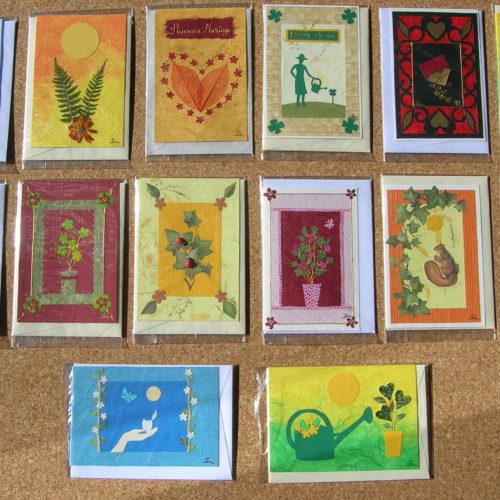 Carte faite à la main par un artisan français : Cart'Isa